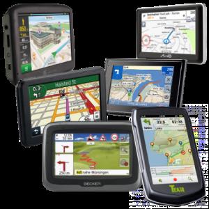 GPS navigace bez pozadí
