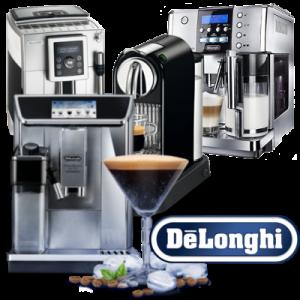 Kávovary De'Longhi bez pozadí