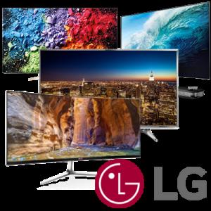 Televizory LG bez pozadí