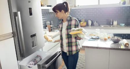 Lednička Beko v kuchyni