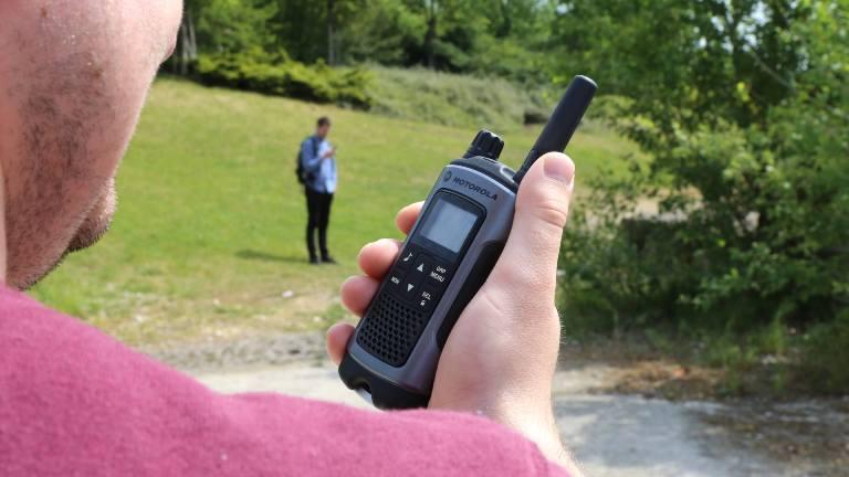 Použití vysílačky