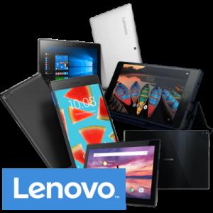 Tablety Lenovo bez pozadí