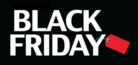 Black Friday 2017 se pomalu blíží… už víte, kde nakoupit?